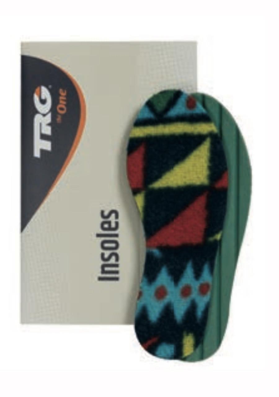 Стелька для обуви детская зимняя TRG  флис и латекс 19 размер