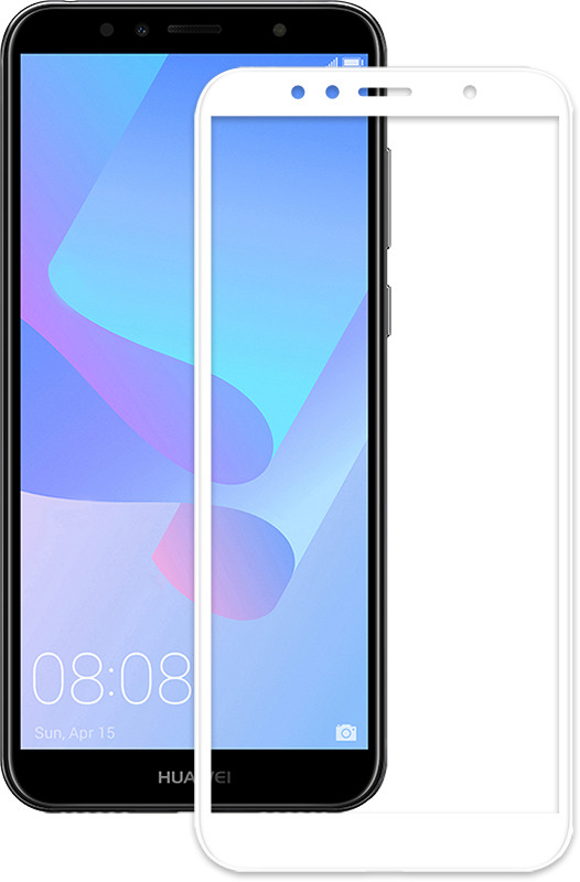 Защитное стекло Mocolo 2.5D Full Cover Tempered Glass Huawei Y6 Prime 2018 Белый (73679)