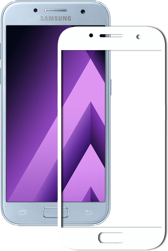 Защитное стекло Mocolo 2.5D Full Cover Tempered Glass Samsung Galaxy A7 2017 / A720 White (50548)