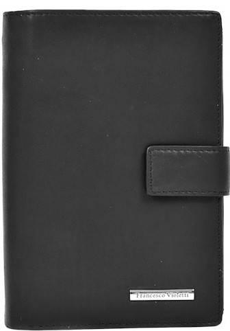 Модный кожаный кошелек для мужчин FRANCESCO VIOLETTI (ФРАНЧЕСКО ВИОЛЕТТИ) PM33103809F07