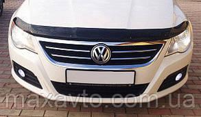 Мухобойка, дефлектор капота VW Passat CC c 2008-2012 р. в.
