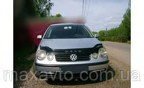 Мухобойка, дефлектор капота VW Polo 4 з 2001-2005 р. в.(до ресталинга)