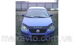 Мухобойка, дефлектор капота VW Polo 4 з 2005 -2009р.в.(після ресталинга)