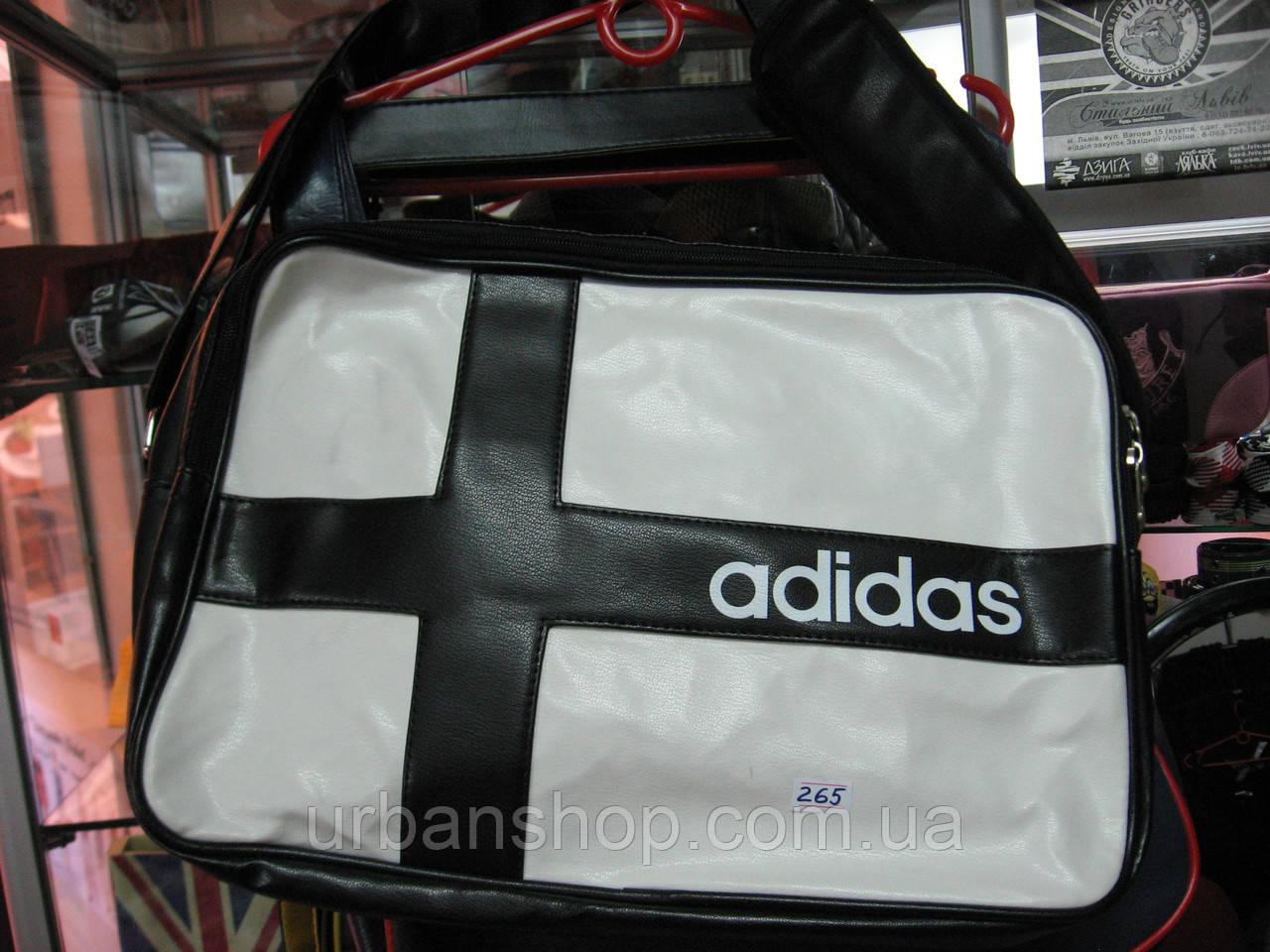 Сумка Adidas чорна з білим. Увага! Щоб ЗАМОВИТИ писати на Viber +380954029358
