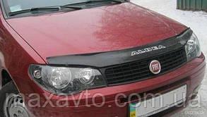 Мухобойка, дефлектор капота Fiat Albea c 2007-2012 р. в.