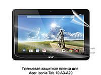 Глянцевая защитная пленка для Acer Iconia Tab 10 A3-A20