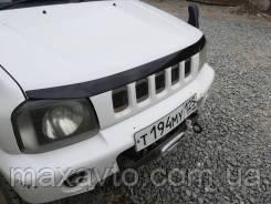 Мухобойка, дефлектор капота Suzuki Jimny (JB43) з 1998-2012 р. в.