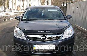 Мухобойка, дефлектор капота Opel Vectra C с 2006- г.в. Ресталинг