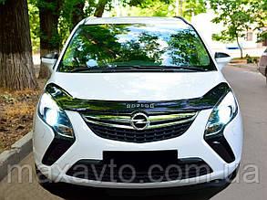 Мухобойка, дефлектор капота Opel Zafira C c 2011-2017 г.в.