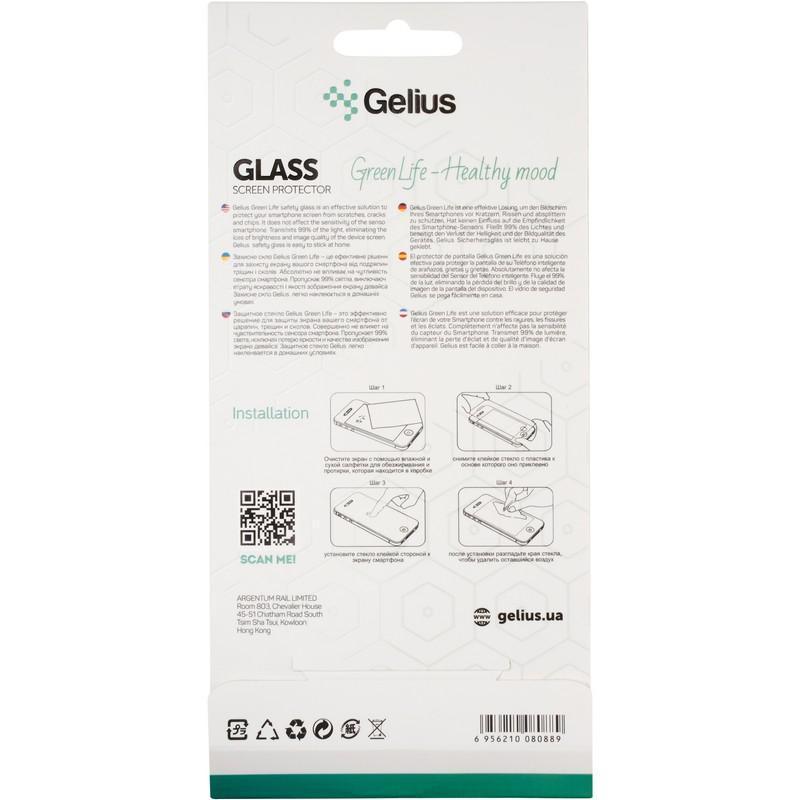 Защитное стекло Gelius Green Life for Xiaomi Redmi Note 9 Black