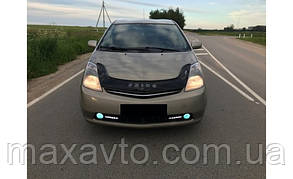 Мухобойка, дефлектор капота TOYOTA Prius c 2003-2008 г.в.