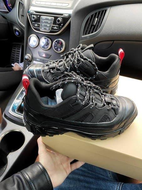 Женские кроссовки Burberry Arthur Sneakers Black