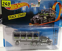 Детский грузовик-трейлер металлический от  Hot Wheels