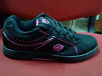Кросівки Classica чорно/рожеві крила. Арт № 0013