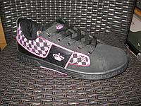 Кросівки Classica чорно/рожева корона. Арт № 0014