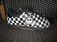 Кросівки Classica чорно/білі смайл. Арт № 0017