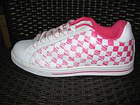 Кросівки WBL WL-0518 біло-рожеві. Розміри :   -  . Wishot, Busta'grip, McArthur.