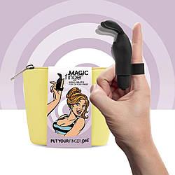 Вібратор на палець FeelzToys Magic Finger Vibrator Black