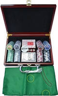 Набор для игры в покер 200ф с номинолом.