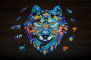 Деревянный пазл Волк (wol-326-430)