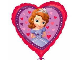 Шар Принцесса София 46см (гелий)