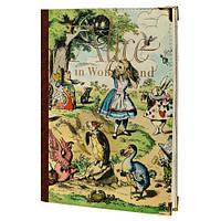 Ежедневник Алиса в стране чудес