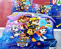 5D Полуторное детское постельное белье Щенячий Патруль