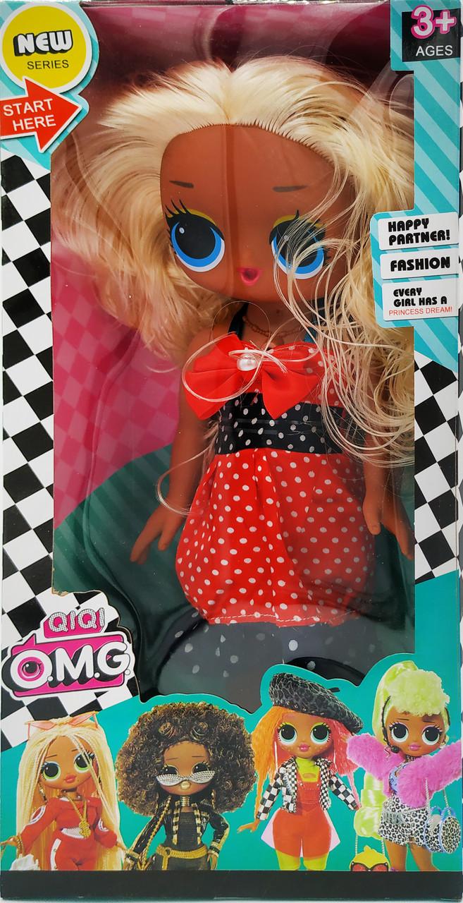 Большая Кукла ЛОЛ ОМГ музыкальная 30 см LOL OMG Вид 1
