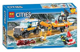 """Конструктор Bela Cities """"Спасательная операция"""" 367 деталей"""