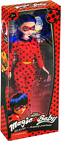 Кукла Леди Баг Lady Bug в маске 29 см