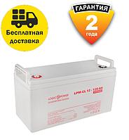 Аккумулятор гелевый для котлов LPM-GL 12 - 120 AH LogicPower  для ИБП. 2 года гарантия, фото 1