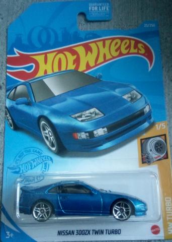 Машинка Hot Wheels 2021 Nissan 300ZX Twin Turbo