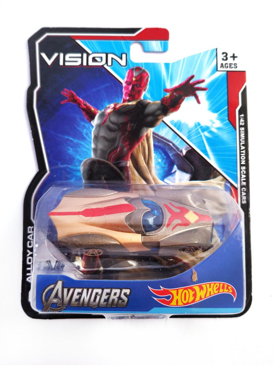 Машинка Hot Wheels Avengers Aquaman Хост Вилс Мстители Аквамен
