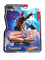 Машинка Hot Wheels Avengers Vision Хот Вилс Мстители Вижен