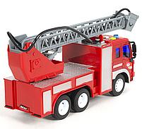 Пожарная машина с водяной помпой, свет, звук, подьемная лестница , фото 2