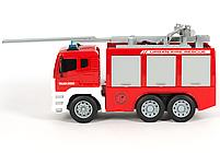 Пожежна машинка з водяною помпою і висувною драбиною , фото 3