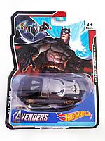 Машинка Hot Wheels Avengers Batman Хот Вилс Мстители Бэтмен