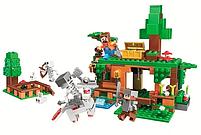 """Конструктор майнкрафт BELA Minecraft """"Битва за скарби"""" 327 деталей, фото 2"""