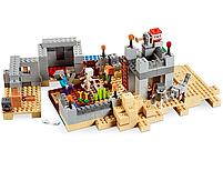 Конструктор майнкрафт Пустынная станция Bela Minecraft 519 деталей, фото 2