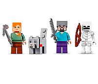 Конструктор майнкрафт Пустынная станция Bela Minecraft 519 деталей, фото 4