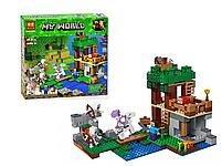 Конструктор майнкрафт Нападение армии скелетов Bela Minecraft 463 детали , фото 2