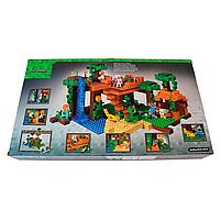 """Конструктор майнкрафт BELA Minecraft """"Домик на дереве в джунглях"""" 718 детали, фото 4"""