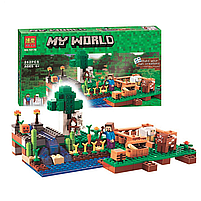 Конструктор майнкрафт Ферма Bela Minecraft 262 детали, фото 3
