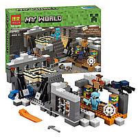 """Конструктор майнкрафт BELA Minecraft """"Портал края"""" 577 деталь, фото 3"""