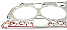 Прокладка головки блока Д 243, 245 (металл Евро 2), фото 3