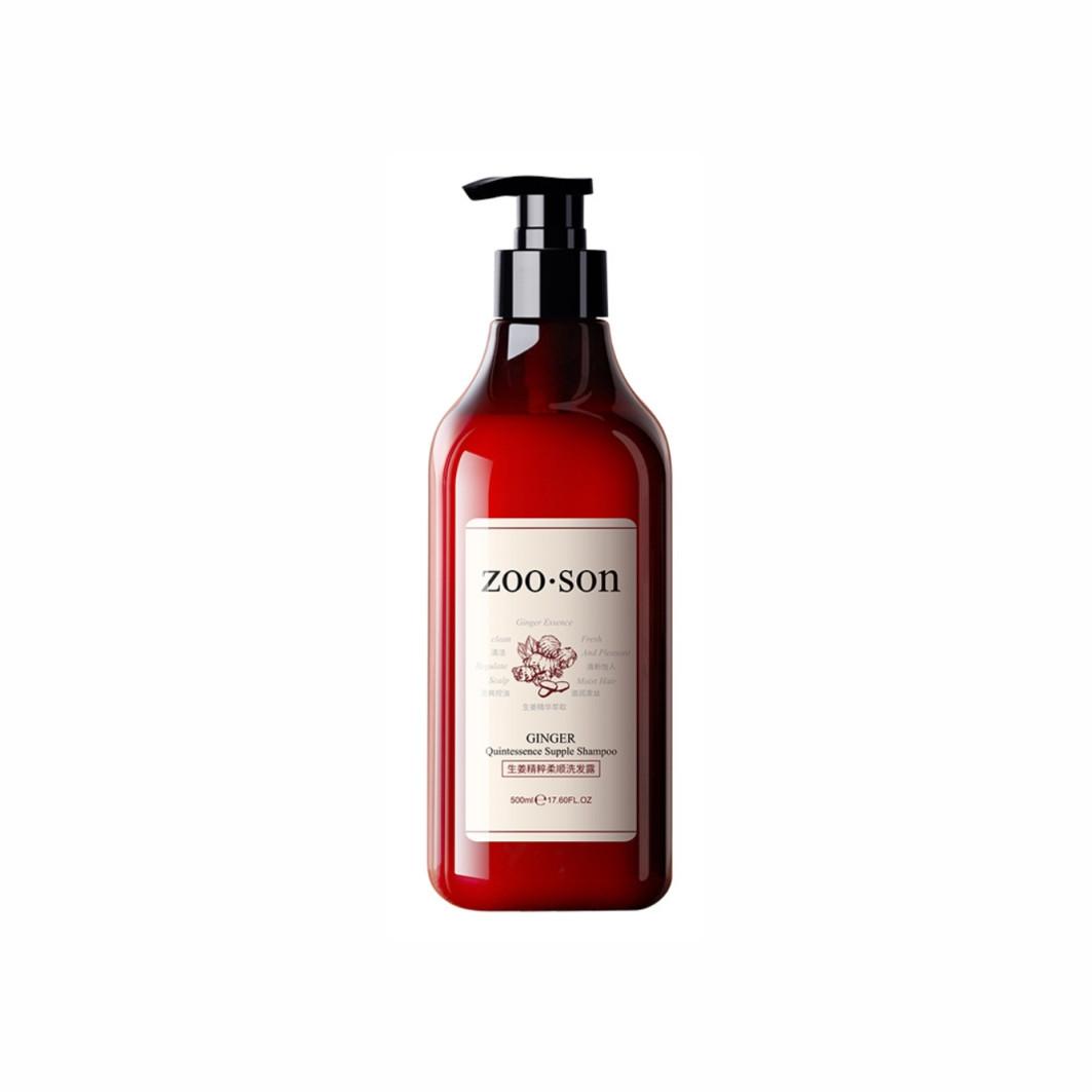 Мягкий шампунь на основе корня имбиря Zoo Son Ginger Quintessense Supple Shampoo