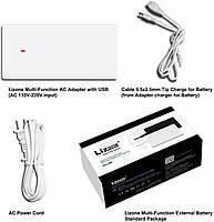 Ультратонкий блок питания Lizone Extra Pro Multi-function AC 90W, фото 2