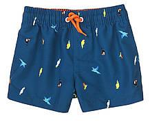 Подростковые пляжные шорты для мальчика Minoti 11-12 лет, 146-152 см