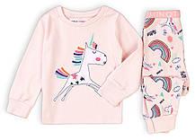 Детская пижама единорожек для девочек 80/128 см