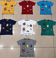 Футболка дитяча 1-8 років для хлопчиківТуреччина оптом